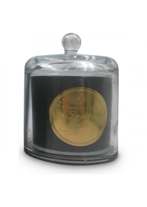 Bougie cloche noire Smoked Latte (D.10,5xH.13,5cm) Décoration