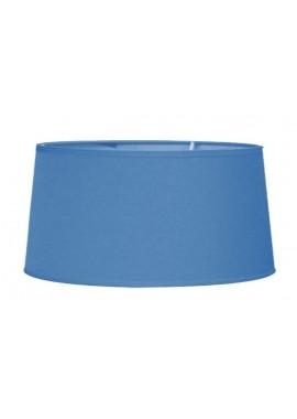 Abat-jour en tissu bleuet (D.35xH.19cm)