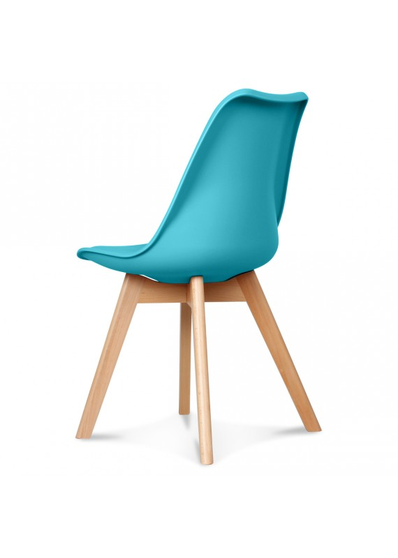 chaise design scandinave bleu scandy couleur bleu matiere plasti. Black Bedroom Furniture Sets. Home Design Ideas