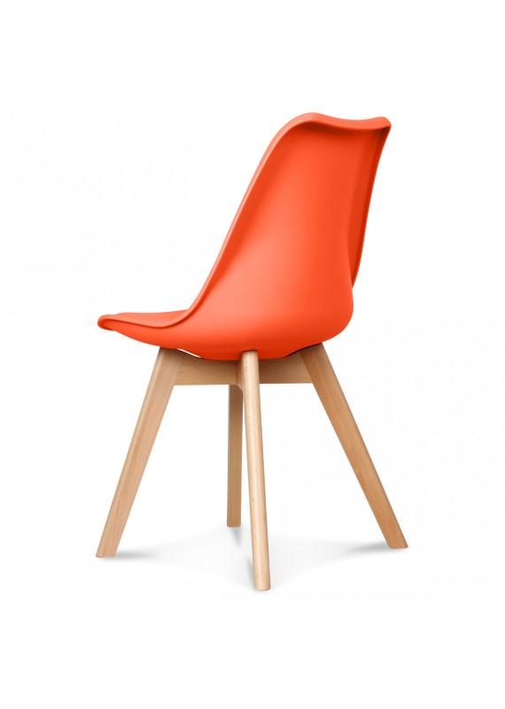 Design Orange Scandinave CouleurMatierePl Chaise Scandy OXPukZi