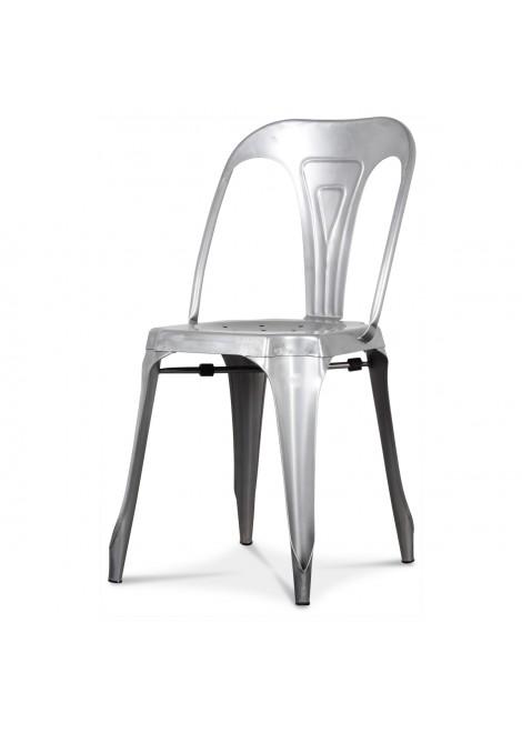 Chaise Multipl's métal