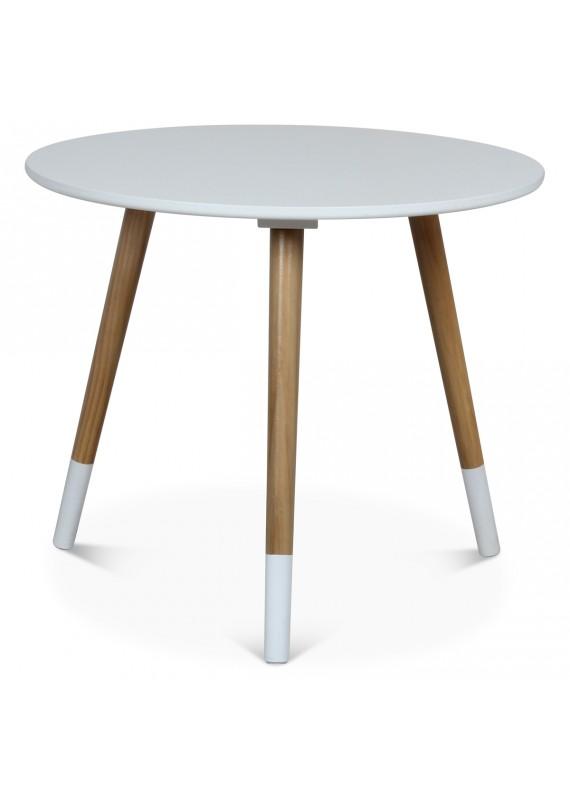 table basse scandinave blanche vick couleur blanc m. Black Bedroom Furniture Sets. Home Design Ideas