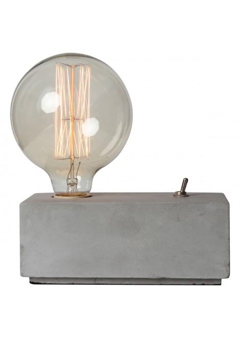 Lampe à poser en béton Eureka !