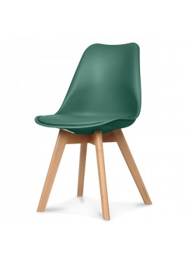 Chaise design scandinave vert pin Scandy