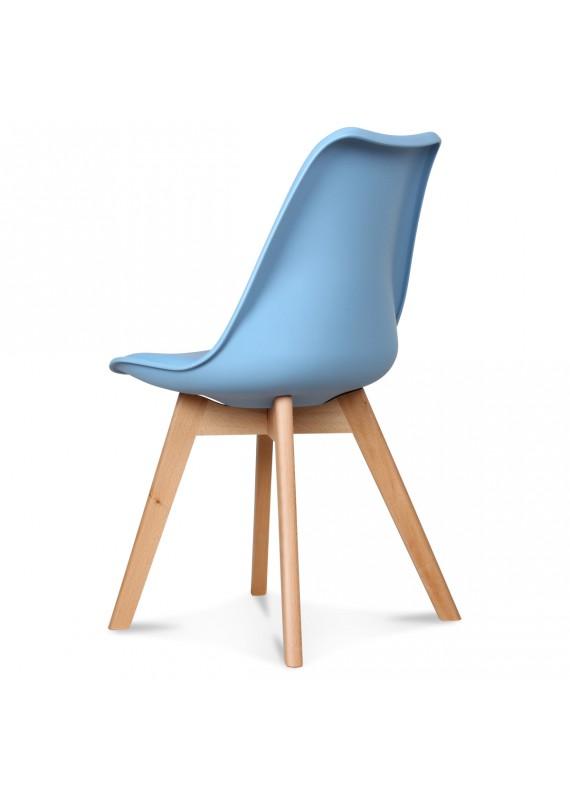 chaise design scandinave bleu adriatic scandy couleur bleu matier. Black Bedroom Furniture Sets. Home Design Ideas
