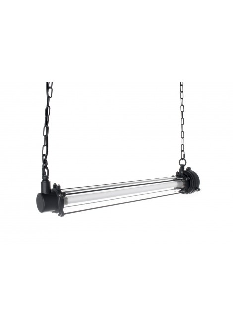 Suspension transparente Usine (L.70xD.13,5cm)