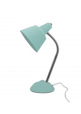 Lampe bleue Columbo (L.13xl.18xH.34cm)