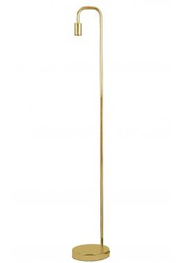 Lampadaire en métal couleur laiton Brook (H.138cm)