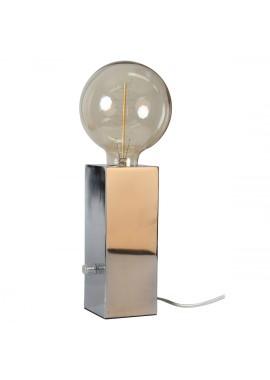Lampe Totem métal chromé (H.20cm)