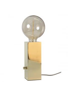 Lampe Totem métal laiton (H.20cm)