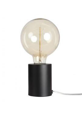 Lampe tactile noir mat (D.7,5xH.9,5cm)