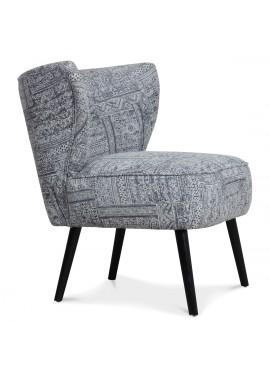 Fauteuil Bamako carpet gris