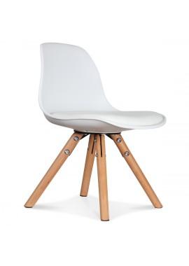 Chaise enfant mini scandinave blanche